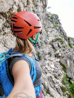 Helm auf, Steinschlaggefahr