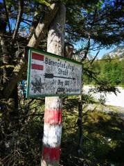 Der Bärenpfad nach Strobl