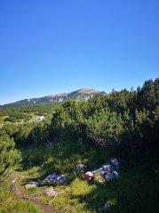 Blick zurück zum Gipfelplateau